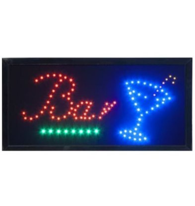Securit LED Bord 'Bar' | 48x24x2cm