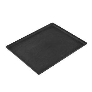 XXLselect Schotel Leisteen Look Zwart | Hoge Breukbestendigheid | 320x260x(H)20mm