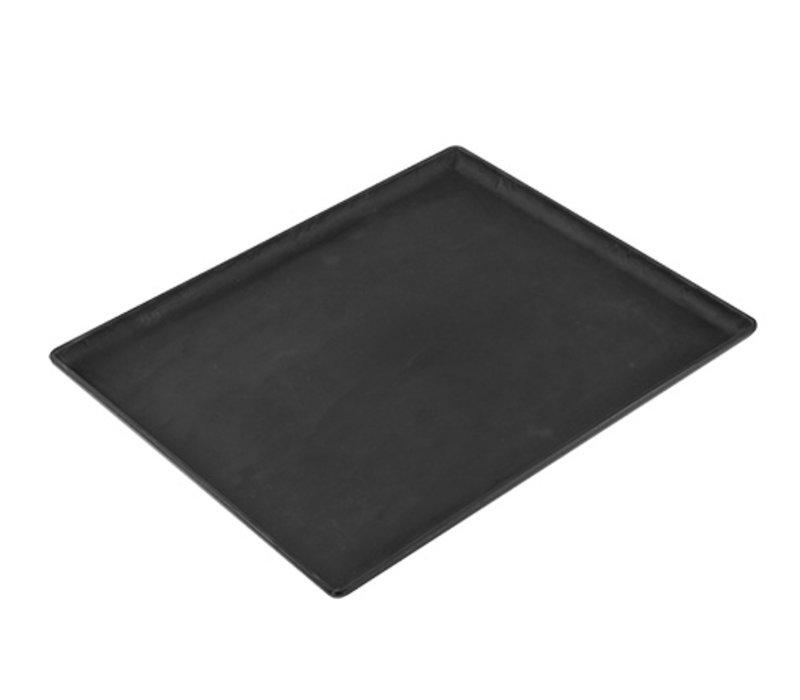 XXLselect Dish Slate Look Schwarz | Hohe Rupture Widerstand | 320x260x (H) 20 mm