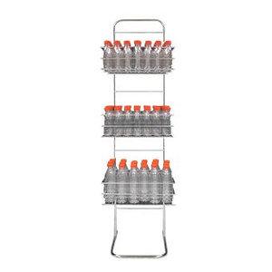 Zumoval Edelstahl-Flasche | für Zumoval Flaschen | 400x1700 (h) mm