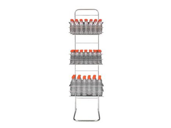 Zumoval Edelstahl-Flasche   für Zumoval Flaschen   400x1700 (h) mm