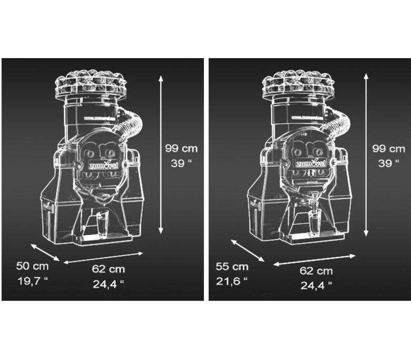 Zumoval FastTop Squeezer Zumoval   Früchte 45 p / m von Ø60-80mm   automatisch