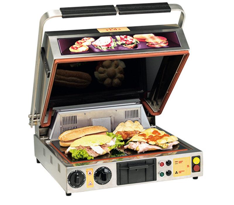 XXLselect Keramische Grill Oven | 1700W | 500x540x(H)250mm