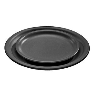 XXLselect Platte mit Keramik-Oberfläche | Feuerbeständig | Ø190x (H) 20 mm