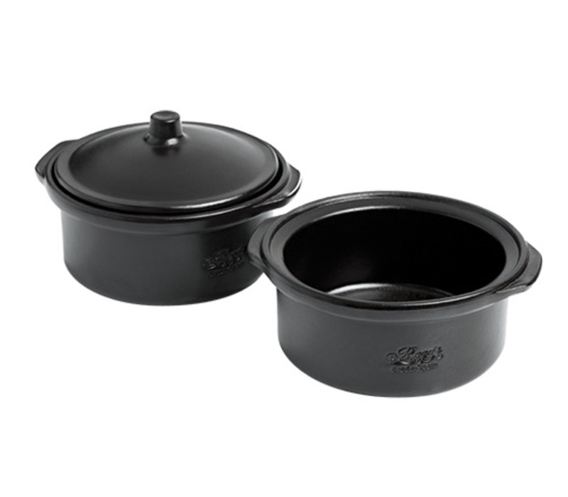 XXLselect Cocotte with Lid | Ceramic top coat | Fixed oven | Ø140x (H) 70mm