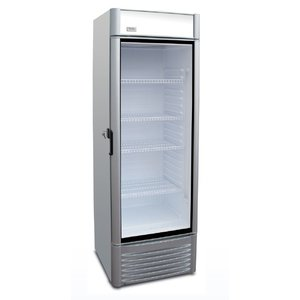 XXLselect Display refrigerator Green 400 | Adjustable shelves | 383 liter