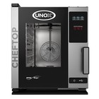 Unox Kombidämpfer Ein Elektro Compact Combi Ofen | XECC-0523-E1R a | 5 x GN 2/3 | 400V | 535x662x649 (h) mm