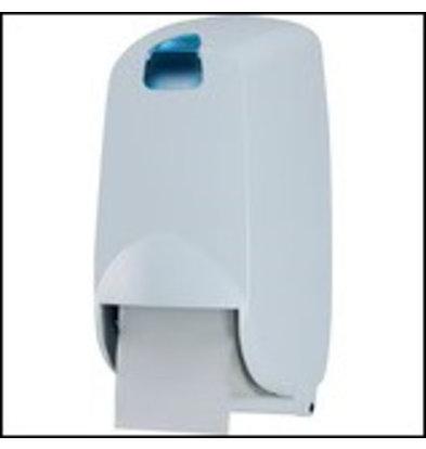 XXLselect Duo Toiletrolhouder / Dispenser | Kunststof Wit | HP461