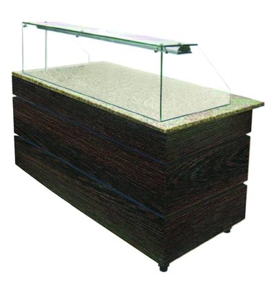 Combisteel Neutraal Buffet Wenge 1250 | 1250x800x1355(h)mm