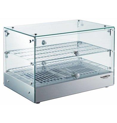 Combisteel Warming Vitrine 50 Liter | 800W | 554x361x379 (h) mm