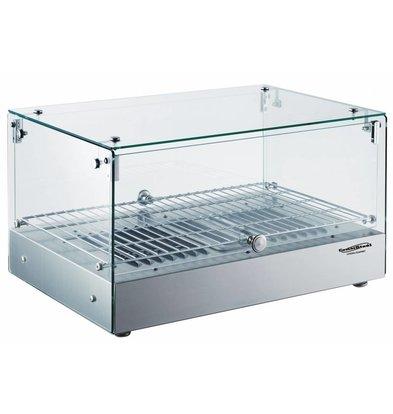 Combisteel Warming Vitrine 35 Liter | 800W | 554x361x311 (h) mm