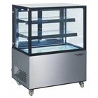 XXLselect Refrigerated display case 270 Liter | Forced, Refrigerant R134A | 915x675x1269 (h) mm
