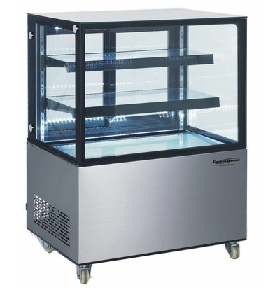 Combisteel Refrigerated display case 270 Liter | Forced, Refrigerant R134A | 915x675x1269 (h) mm