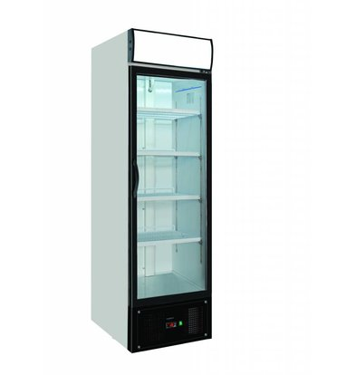 Combisteel 1 glass door freezer | 460 Liter | Forced, Refrigerant R404A | 620x712x2052 (h) mm