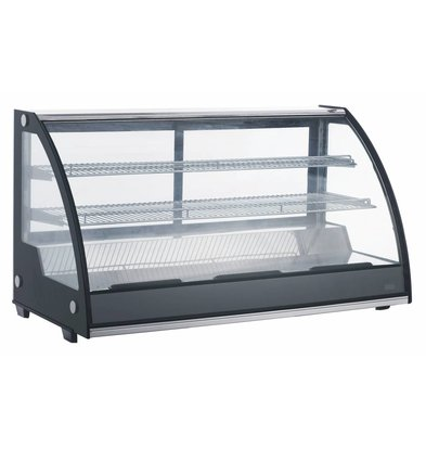 Combisteel Refrigerated display case 201 Liter | Forced, Refrigerant R134A | 1217x590x685 (h) mm