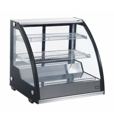 Combisteel 67 Liter Refrigerated display case | Forced, Refrigerant R134A | 797x590x685 (h) mm