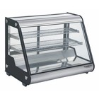 XXLselect Refrigerated display case 160 Liter | Forced, Refrigerant R134A | 875x578x678 (h) mm