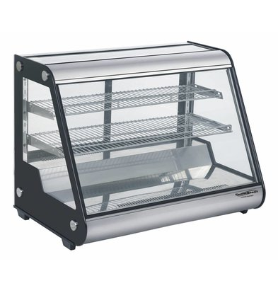 Combisteel Refrigerated display case 160 Liter | Forced, Refrigerant R134A | 875x578x678 (h) mm