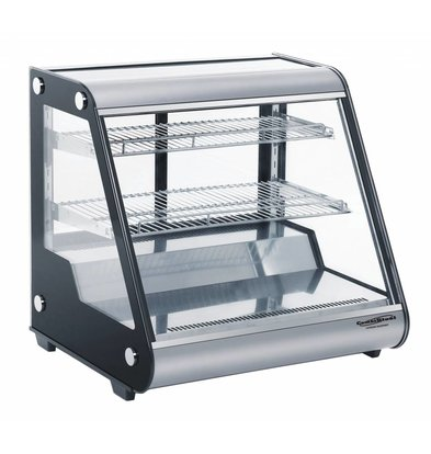 Combisteel Refrigerated display case 130 Liter | Forced, Refrigerant R134A | 697x578x678 (h) mm
