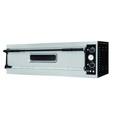Combisteel Pizza Oven Single, 3 Pizzas Ø350mm   4400W   1305x600x413 (h) mm