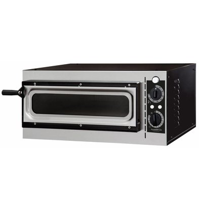 Combisteel Pizza-Ofen Single, Pizza Ø320mm | 1600W | 568x500x280 (h) mm