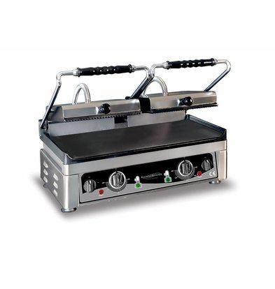 XXLselect Kontakt Grill Doppel | 3,5kW / 230V | 560x440x300 (h) mm