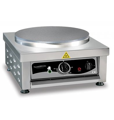 XXLselect Gerade Crepes Maker | 3kW / 230V | 450x520x245 (h) mm