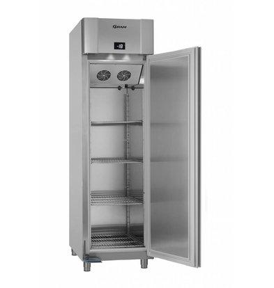 Gram Freezer Vario Silver / Aluminium | Eco Euro F60 RAG L2 4N | 465 L | 600x855x2125 (h) mm