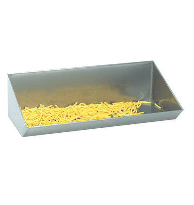 XXLselect Frites Uitschepbak SS | Wall mounted | Incl. Hanging bracket | 33x40x (H) 20cm | Available in 4 sizes