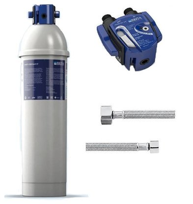 Brita Purity C500 Quell ST | voor IJsblokjesmachines tot 40kg | Complete Set: Filterpatroon + Filterkop + 2 Aansluitslangen