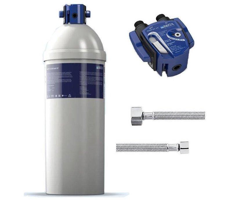 Brita Reinheit Quell ST C1100   für Eismaschinen> 40kg   Komplett-Set: Filterpatrone Filterkopf + + Anschlussschläuche