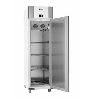 Gram Freezer White / Aluminum | Eco Euro 60 F LAG L2 4N | 465L | 600x855x2125 (h) mm
