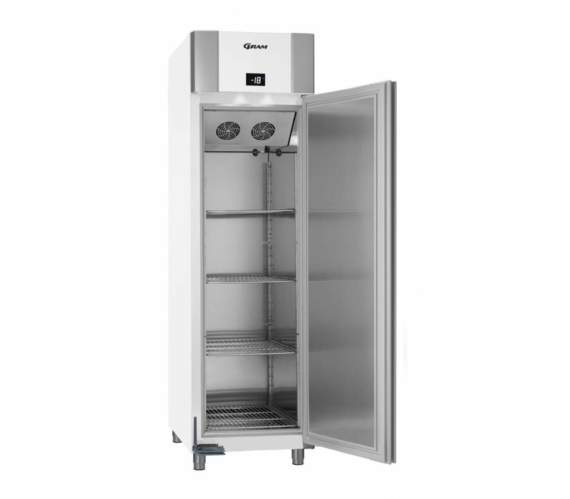 Gram Gefrierschrank Weiß / Aluminium | Eco Euro 60 F LAG L2 4N | 465L | 600x855x2125 (h) mm