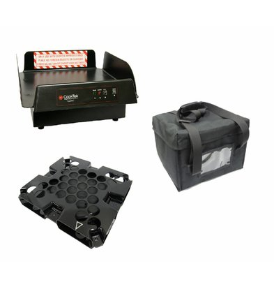 CookTek CookTek ThermaCube Delivery System Hoch | Komplett-Set: Bag + Drive + Charging Station