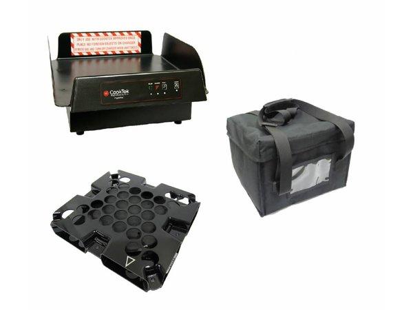 CookTek CookTek ThermaCube Delivery System Hoch | Komplett-Set: Bag + Drive + Charging Station
