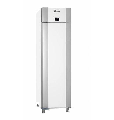 Gram Refrigerator White / Aluminum | Gram Eco Euro K 60 LAG L2 4N | 465L | 600x855x2125 (h) mm