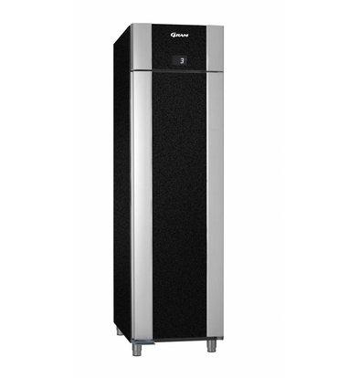 Gram Kühlschrank Schwarz / Aluminium | Gram Eco Euro 60 K BAG L2 4N | 465L | 600x855x2125 (h) mm