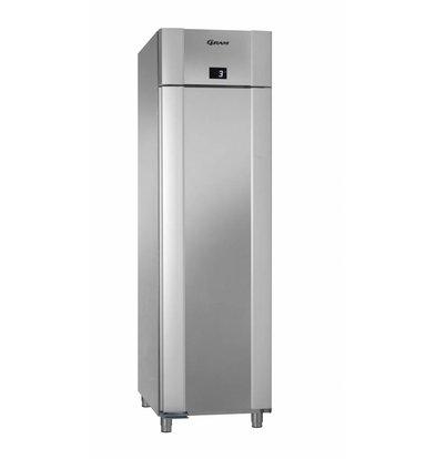 Gram Kühlschrank Edelstahl / Edelstahl | Gram Eco Euro 60 M CCG L2 4N | 465L | 600x855x2125 (h) mm