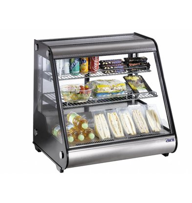 Saro Refrigerated display case design - 160 liters - 87x58x (h) 68cm