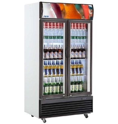 Saro Ventilated refrigerated display case | GTK Model 800 Liter | 1000x730x2036 (h) mm