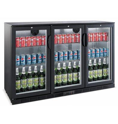 Saro Barkoeler Black 3 Doors | Model BC 330 Liter | 1350x520x850 (h) mm