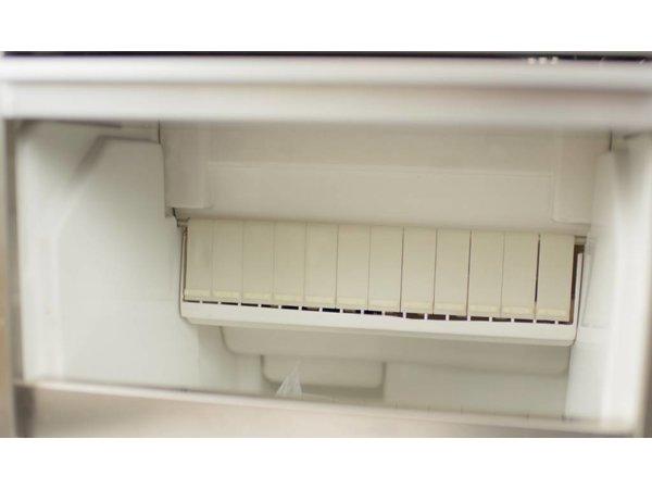 Saro IJsblokjesmachine Volle Vierkante IJsblokjes - 22 kg/24u - 6 kg voorraad - 2 jaar garantie