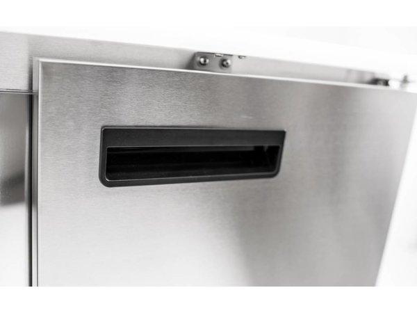 Saro Saladette Flip-Top | Blade-PP | 260 Liter | 903x700x850-885 (h) mm