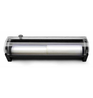 Hendi Vacuumzakhouder | Für Rollen | 487x122x107 (h) mm