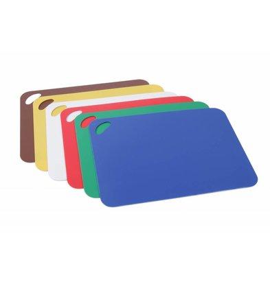 Hendi Dies Set 6 pcs | White, Red, Green, Blue, Yellow, Brown | 290x380mm