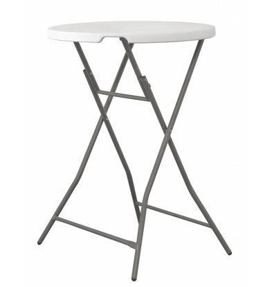 Hendi Round bar table | Indoor and Outdoor | Ø800x1100 (h) mm