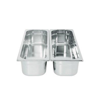 Hendi Gastronorm- Bak 2/4 - 20 mm | 1,2 Liter