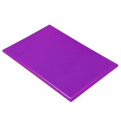 Hendi HACCP Schneidebrett lila | 600x400x18 (h) mm