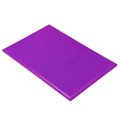 Hendi HACCP Schneidebrett lila | 450x300x12 (h) mm