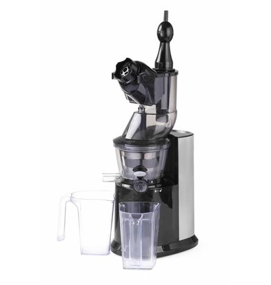 Hendi Langsam Juicer SUPER QUIET 65dB | Geeignet für Hard / Soft Früchte | 250W | 260x175x545 (h) mm
